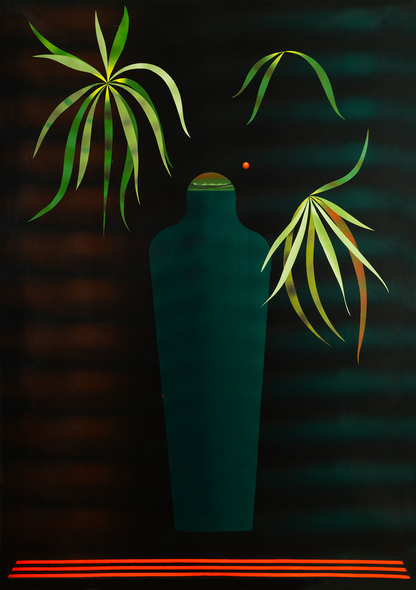 Mattia Barbieri - Adidas Tutankhamon, 2019, oil on canvas, 170 x 210 cm